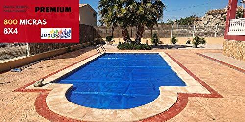 Jumitoldo Manta térmica para Piscinas 800 micras Premium Ta
