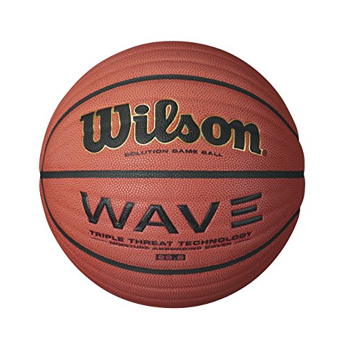 Great Deal! Wilson Wave Solution Game Basketball, Intermediate - 28.5