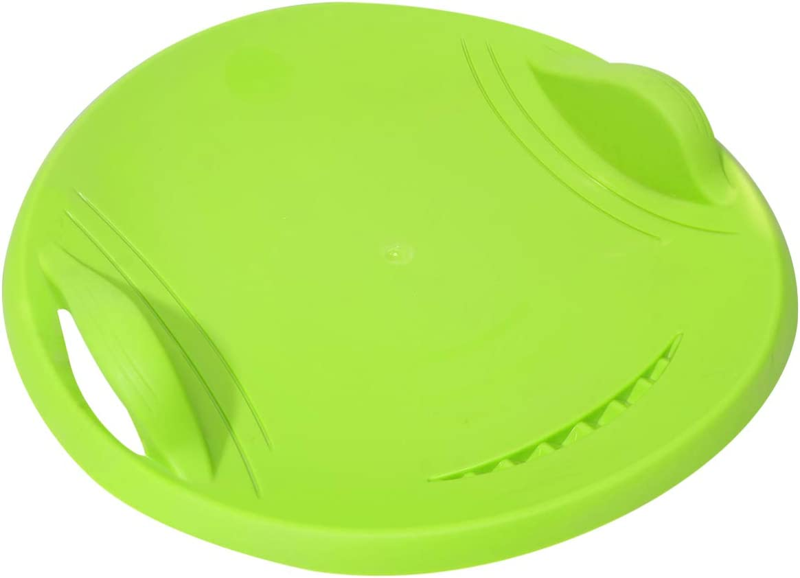 VOSAREA Snow sold out Saucer Sleds Round Sand for Kids Disc New item Ad Slider Toy