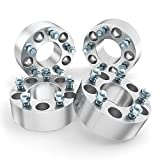 RockTrix - 1.5 inch Wheel Adapters Spacers Converts 5x135 to 5x5.5 (Changes Bolt Pattern) ...