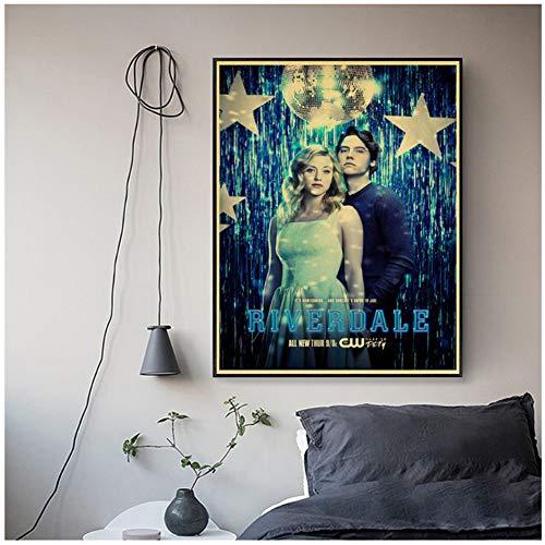 Riverdale Tekens TV Show Canvas Schilderij Posters Wall Art Pictures Voor Woonkamer Decoratie Woondecoratie Plakat -50x70cm Geen Frame