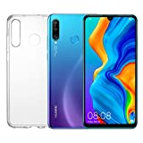 HUAWEI P30 Lite (Blue) Smartphone + cover, 4 GB RAM, Memoria 128 GB Espandibile, Display 6.15' FHD+,...