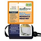 Mosquito Head Net with Insect Shield Permethrin Repellent, green high visibility mesh netting by Atwater Carey, Multicoloured, One size