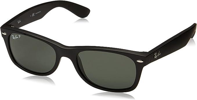 Amazon Com Ray Ban Rb2132 New Wayfarer Lentes De Sol Polarizadas Negro 52 Mm Rayban Shoes