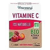 VITARMONYL Vitamine C 100% d'Origine Naturelle Bio - 2 tubes X 12 comprimes - 60g