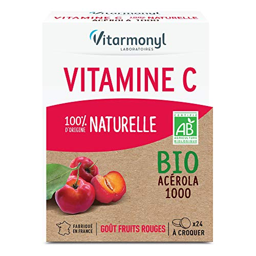 VITARMONYL Vitamine C 100% d'Origine Naturelle Bio