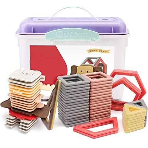Magnetische hölzerne Bautiere, 1 magnetische Bausteine Tiere 3D-Kinderspielzeug für Kinder und Erwachsene Familie Eltern-Kind Interaktive Tischspiele Spielzeug