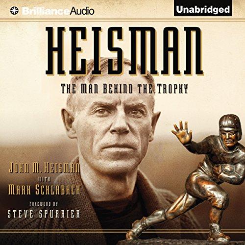 Heisman audiobook cover art
