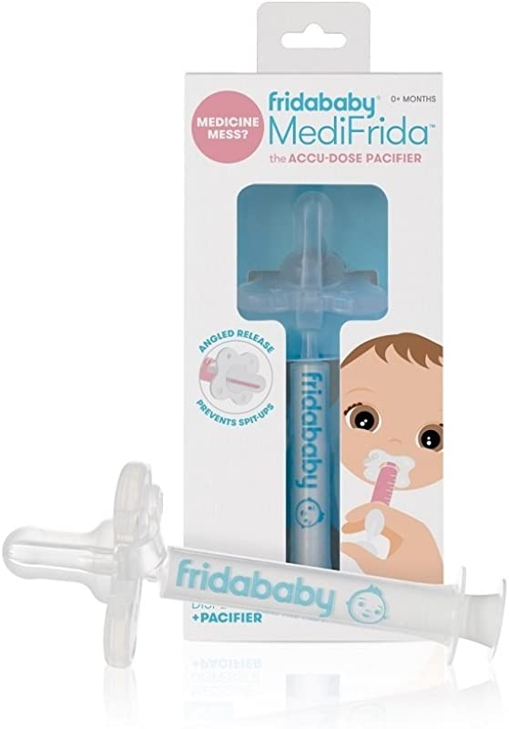 Fridababy MediFrida The Accu Dose Pacifier Baby Medicine Dispenser