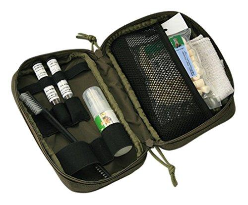 Niebling Vario Feutre Kit de Nettoyage, 7 pièces, M4, Calibre .44/11,1 mm Nettoyage pour Arme, Olive, One Size