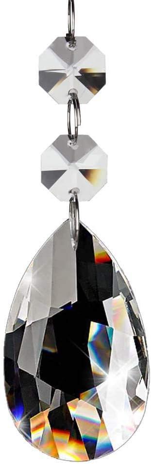Fushing Popular popular 20Pcs Chandelier 100% quality warranty! Crystals Chande Teardrop Clear Crystal