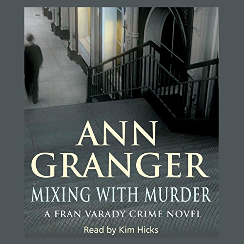 Mixing with Murder audiobook cover art