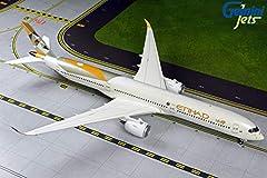 Airbus A350-1000 Etihad A6-XWB 14.52 x 12.74 inches / 36.89 x 32.37 cm