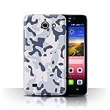 Stuff4 Hülle/Case für Huawei Ascend Y550 LTE/Arktischer