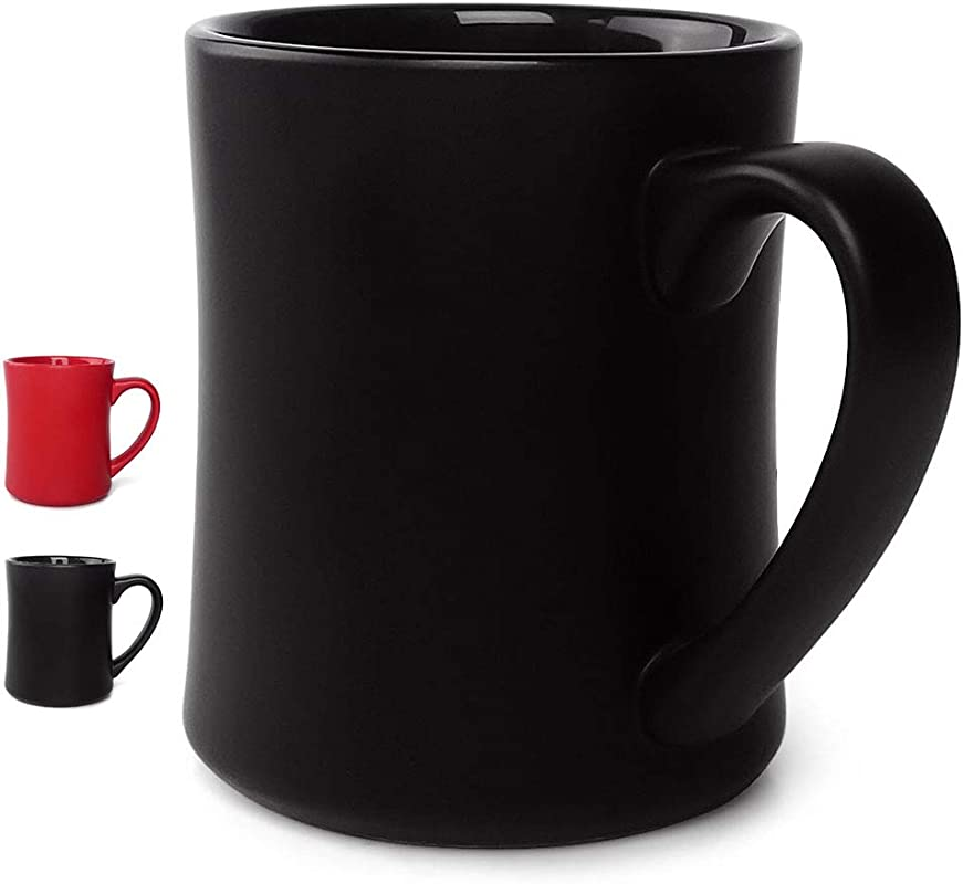 Ceramic Matte Coffee Mug Tea Mug Of 17 2 Ounce Coffee Cup Tea Cup For Office And Home Perfect Gift For Birthday Holiday Anniversary Wedding Black