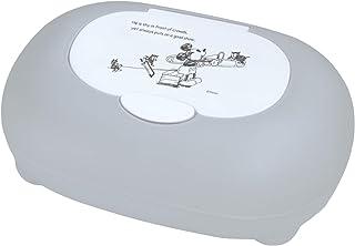 錦化成 ディズニー ミッキー マウス ウェットティッシュ 除菌シート おしりふき ケース 日本製 corotto グレー 19×13×7.5cm
