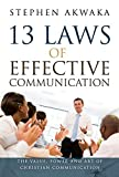 13 Laws of Effective Communication