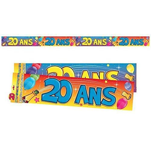 Générique BANNIÈRE 20 Ans