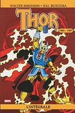 Thor. L'Intégrale : 1986-1987 de SIMONSON-W+BUSCEMA-S