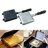 tostador para hacer sándwiches, parrilla de hierro para waffle, sartén para desayuno