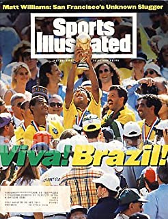 1994 Brazil World Cup Champions Sports Illustrated