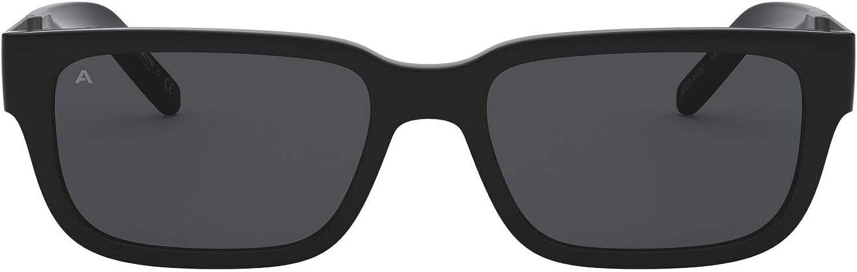 ARNETTE Men's An4273 Post Malone Collection Rectangular Sunglasses