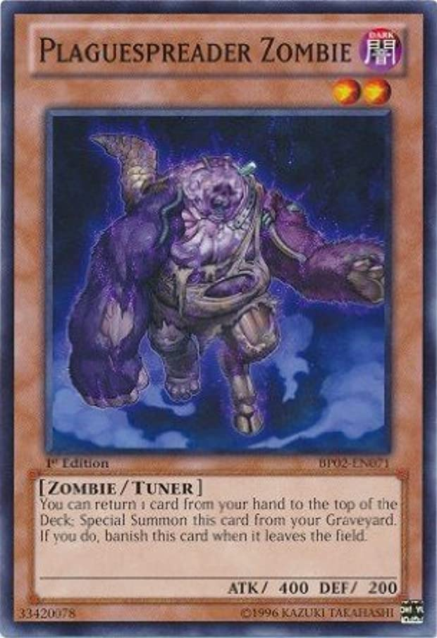 Yu-Gi-Oh! - Plaguespreader Zombie (BP02-EN071) - Battle Pack 2: War of the Giants - 1st Edition - Common