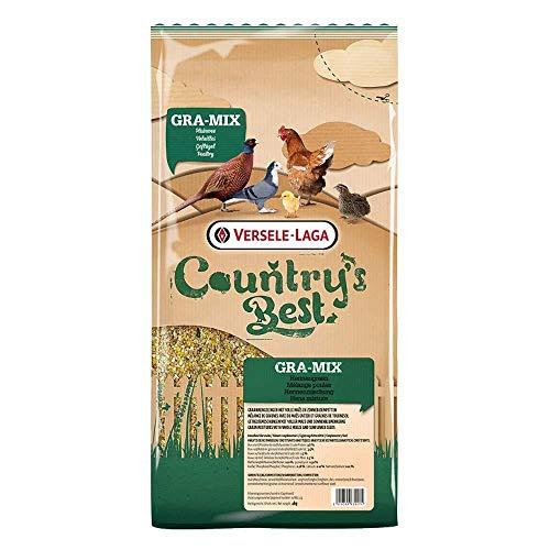 Versele Laga Countrys Best Gra-Mix Hen Mixture Hühnerfutter (4kg) (kann variieren)