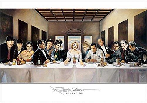 1art1 Renato Casaro - Invitation Poster Kunstdruck 100 x 70 cm