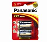 PANASONIC Power Max LR14/MN1400 two batteries 5410853038917 (These two alkaline batteries deliver a voltage of 1.5 V.… )