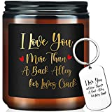 Funny Candles Gifts for Women - I Miss You Gifts, Valentines Day Gifts...