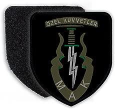 Özel Kuvvetler MAK Bordo Bereliler Turkey Army Turkish Armed Forces Special Elite Commando Crests Badges - Patch/Patches