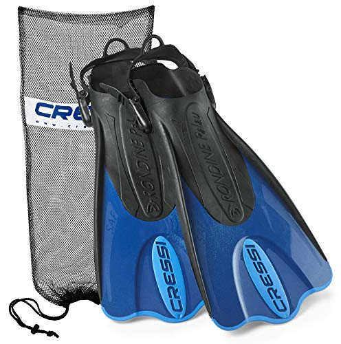 Cressi Palau Short Fins with Mesh Bag