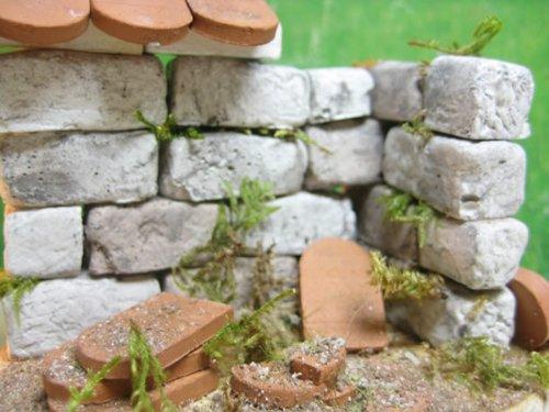 250 rechteckige Ruinen-Bausteine für Krippenbau und andere - 9