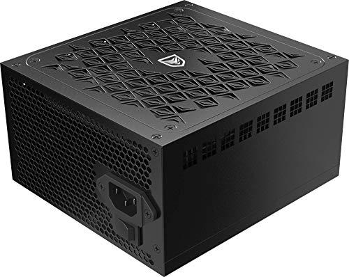 Nfortec Scutum X 750W - Fuente de alimentación para PC con Cableado Mallado no Modular y Certificación 80+ Bronze