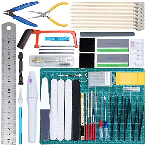 Hobby Building Craft Set for Basic Model Building Repairing and Fixing WiMas 9PCS Universal Gundam Model Tools Kit
