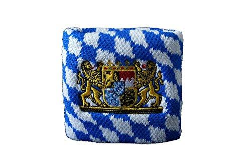 Flaggenfritze® Schweißband Deutschland Bayern mit Löwe