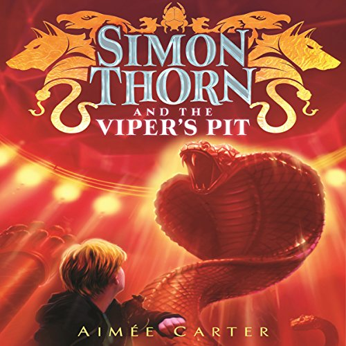 Simon Thorn and the Viper's Pit audiobook cover art