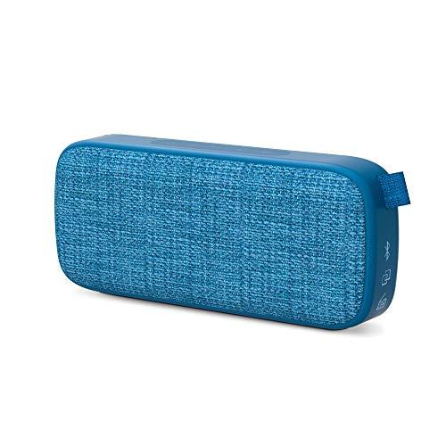 Energy Sistem Fabric Box 3+ Trend Blueberry Altavoz portátil con Bluetooth (TWS, Bluetooth v5.0, 6 W, USB&microSD MP3 Player, FM Radio)