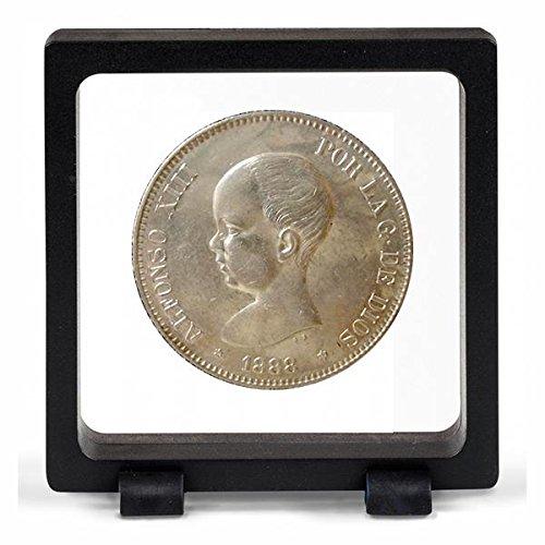 IMPACTO COLECCIONABLES Monedas Antiguas - España 5 Pesetas de Plata 1888/92. Alfonso...