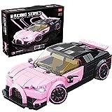 Technik - Juego de bloques de construcción para coche, 360 piezas, compatible con tecnología Lego (B)