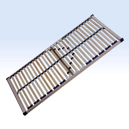 FMP Matratzenmanufaktur Lattenrost Regent starr 28 Leisten Lattenroste Mittelgurt 100x200 cm