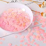20 g/bolsa sakura Lentejuelas holográficas Glitter Shimmer Diamond 12 colores Eye Shiny Skin Highlighter Face Body Glitter Festival, multicolor