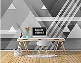 Selbstgemachtes Abstraktes geometrisches Wandgemälde Kreative Kunst Wandgemälde Tapete Tapete...