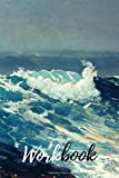 Northeaster Ocean Wave of the sea famous 1901 Winslow Homer American Watercolor Painter Lined Journal workbook: Deep Blue Sea Premium Cover Notebook ... Doodling great gift idea for seaside lovers
