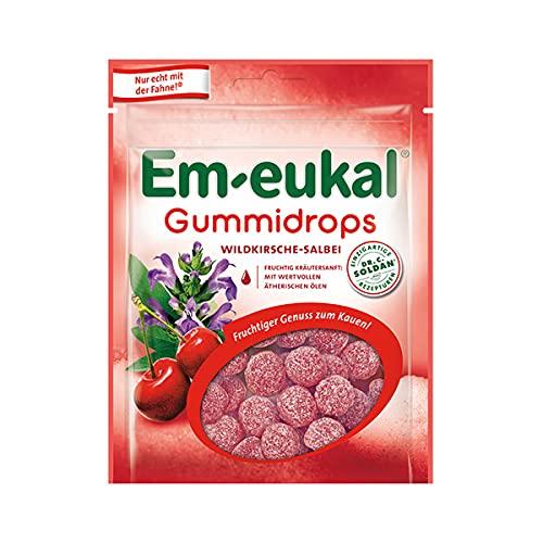Em-eukal Gummidrops Wildkrische Salbei mit feiner Zuckerkruste 90g