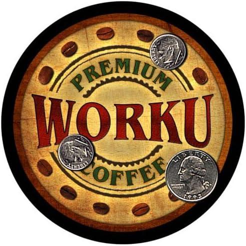 Worku Coffee Custom Neoprene Rubber Coasters 4 Drink - Sales pcs Large discharge sale