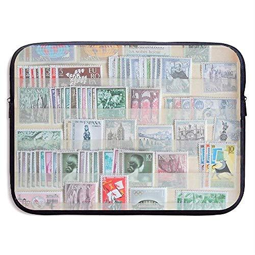 Laptop-Hülle Geld und Stempel Notebook-Tasche Laptop-Umhängetasche Schutz 15 Zoll