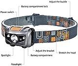 Immagine 1 linkex torcia lampada frontale led