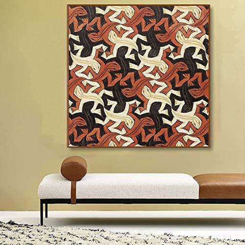baodanla Geen kader Nederlandse kunstenaar hagedis kunst werk op doek, muurschildering abstract schilderen, moderne olieverf olie